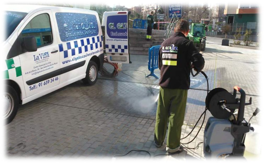 Trabajos de limpiezas especiales en Madrid