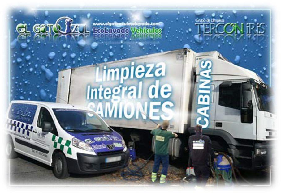 Limpieza integral de camiones en Madrid