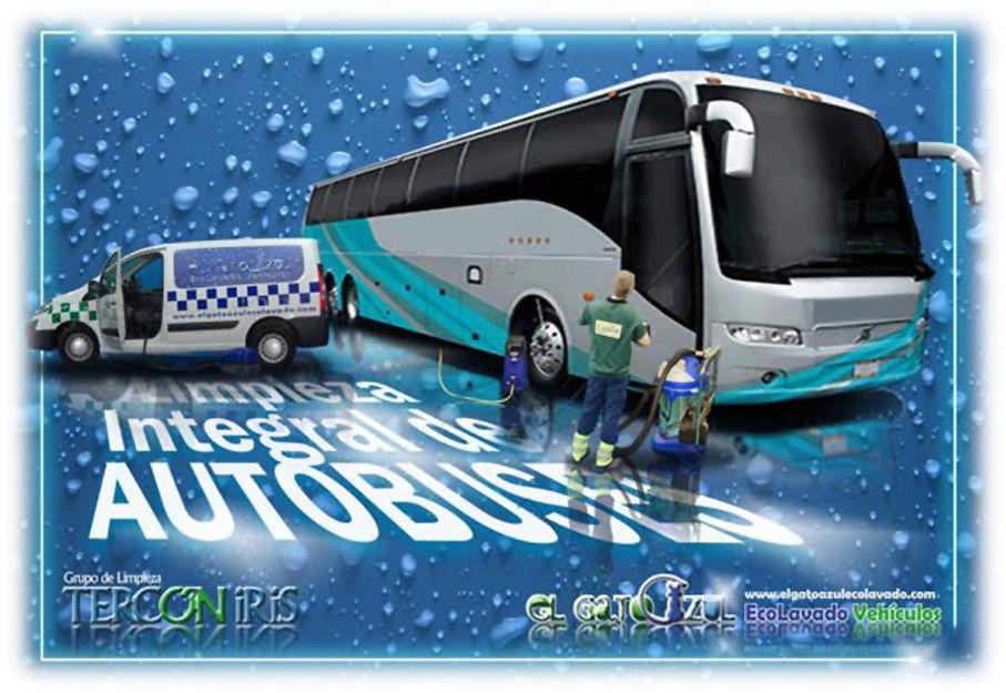 Limpieza integral de autobuses en Madrid