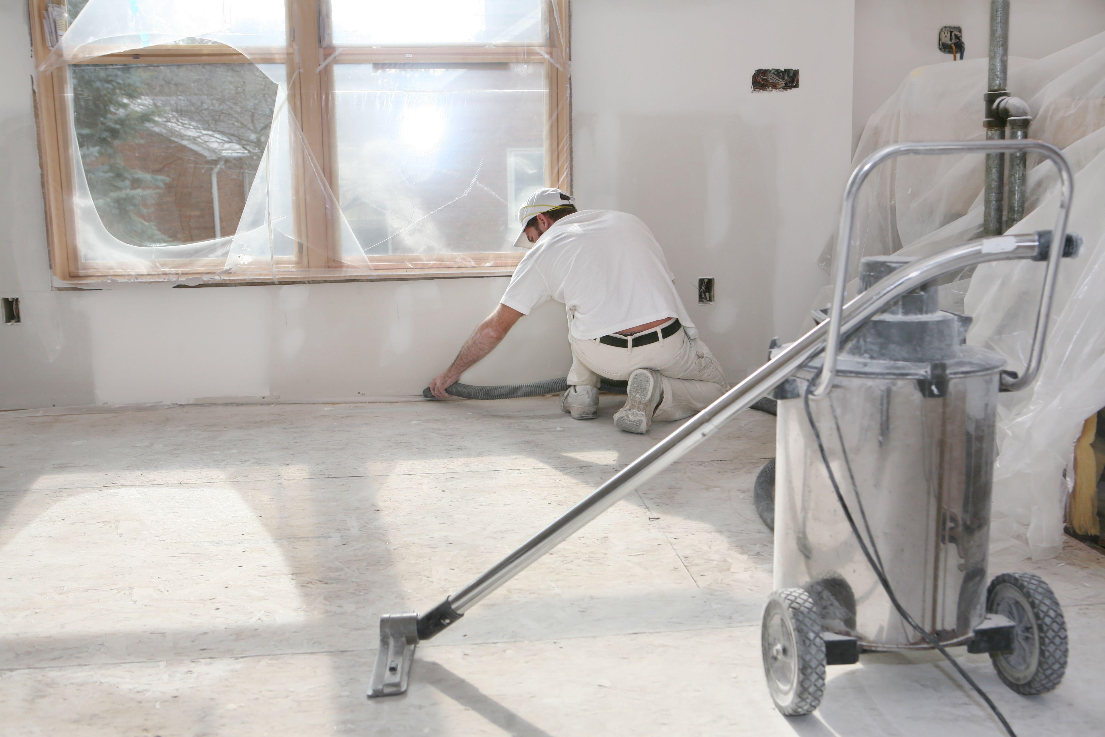 Limpiezas en obras y final de obra: Servicios de Tercon Iris