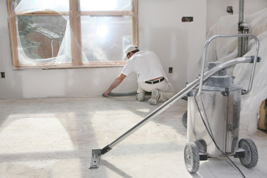 Limpiezas fin de obra en Madrid