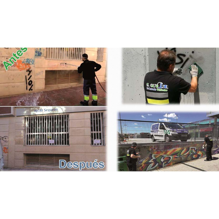 Limpieza  de graffitis: Servicios de Tercon Iris