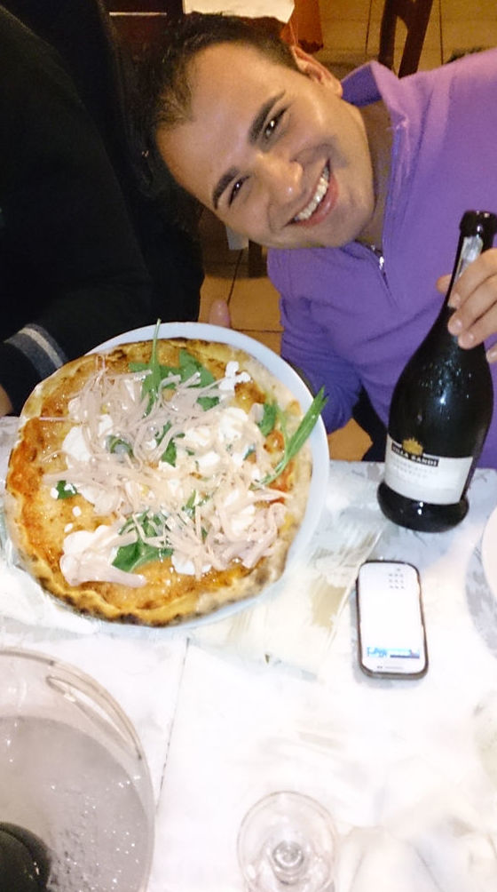 Pizzas italianas artesanas en Ristorante L' Incontro