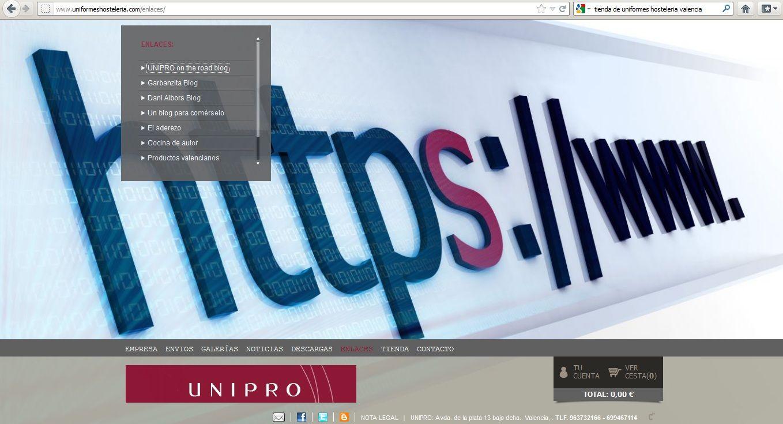 Nueva web venta OnLine