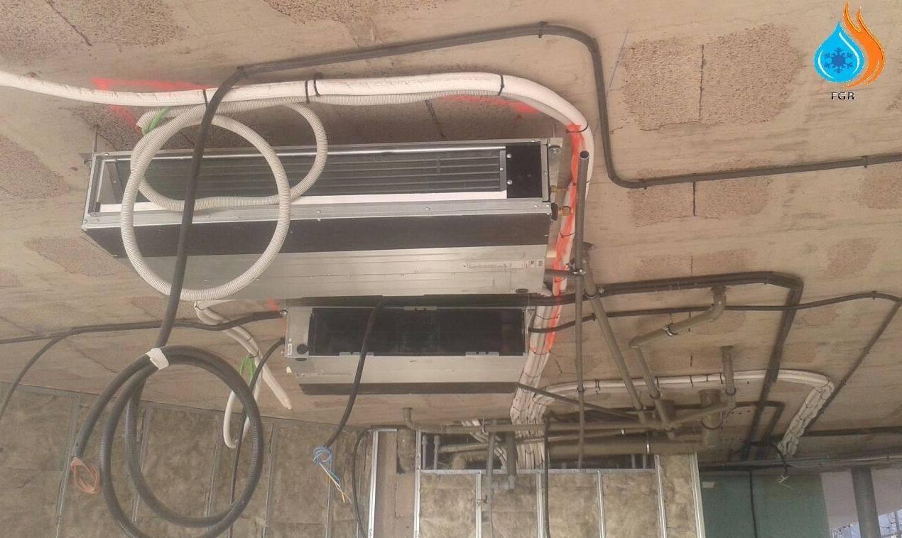 Servicio de instalación de aire acondicionado