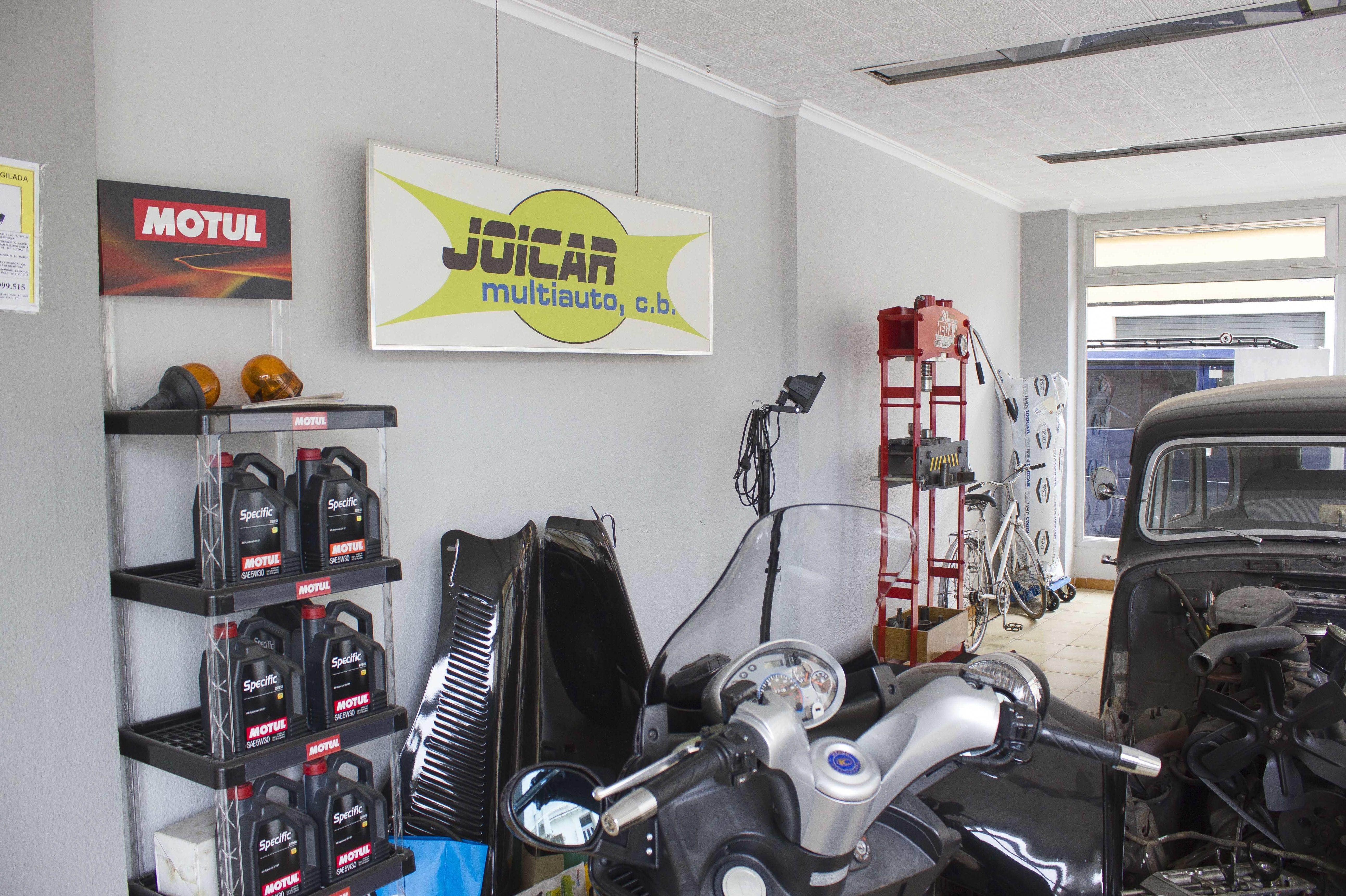 Reparación de motos