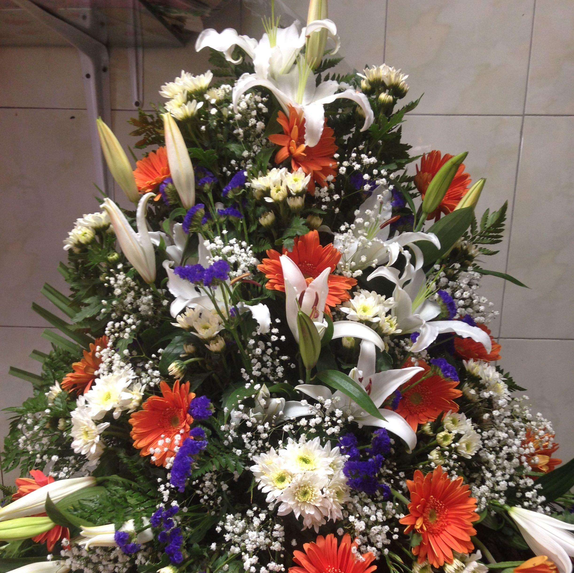 Centros de flores en Ponferrada