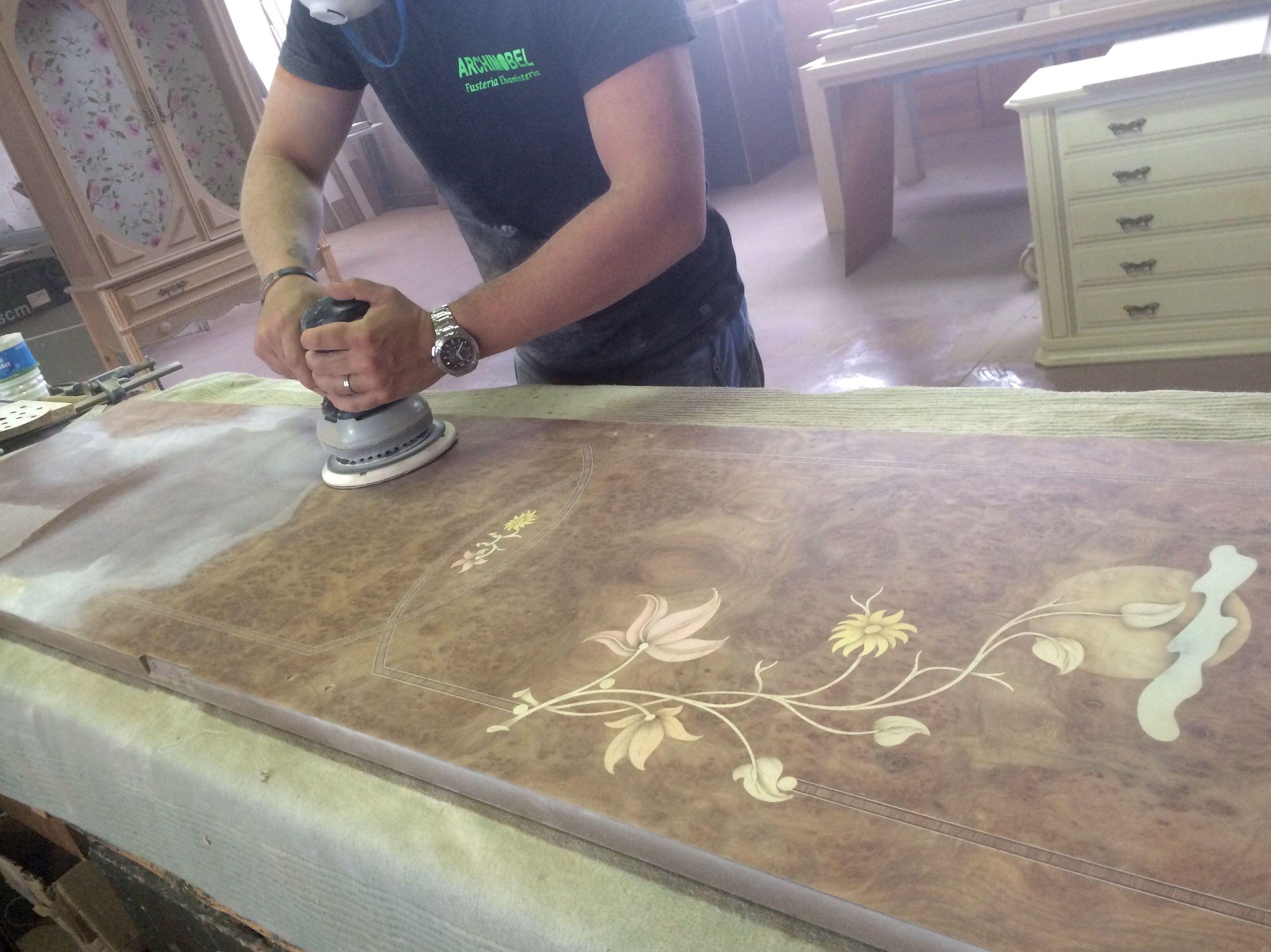 Restauración del mueble