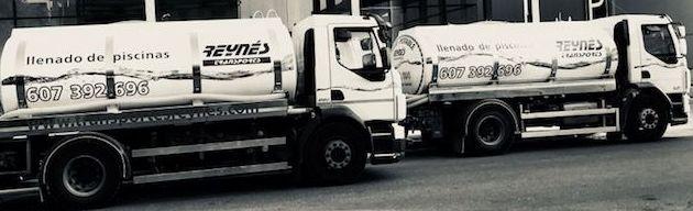 Foto 2 de Transporte de agua potable en Palma | Transportes Reynés