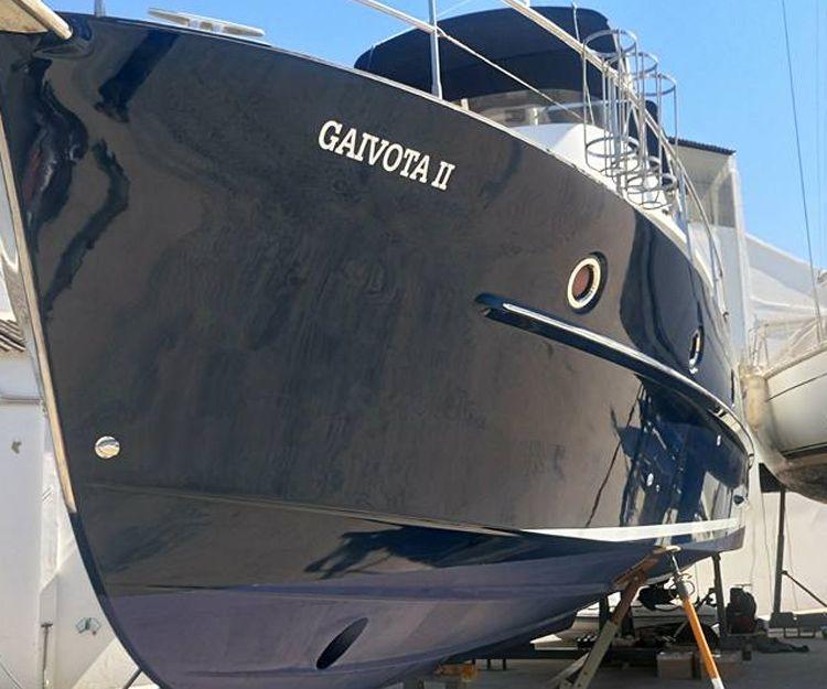 Pórtico de barco de acero inoxidable