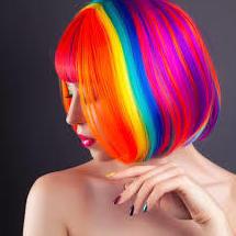 Color fantasía: Servicios de Centro de Belleza Ibelysse