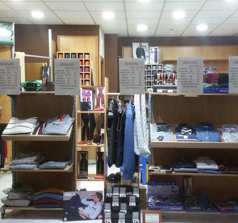 Tienda de ropa para caballero en Granada