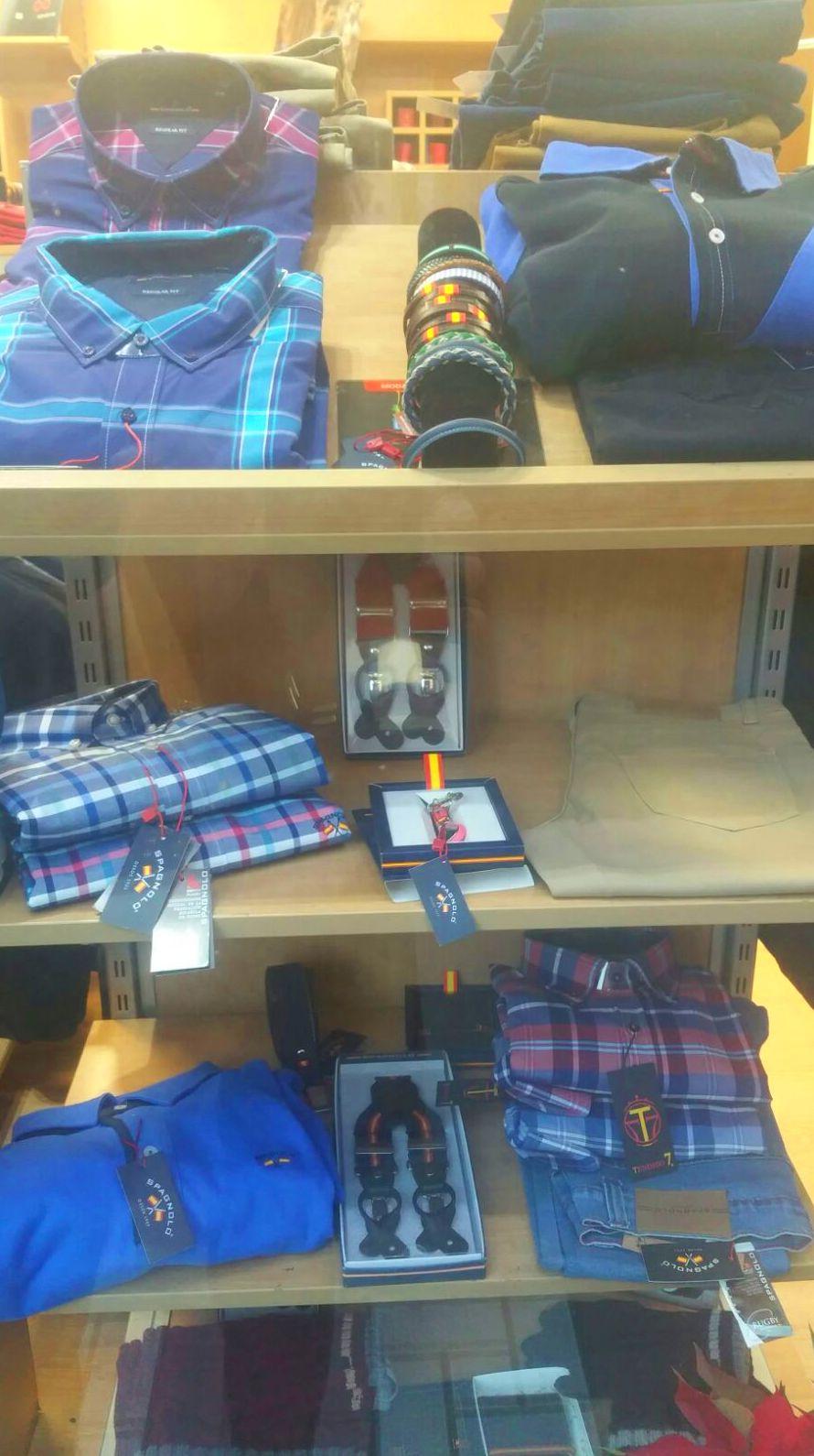 ropa y complementos para hombre en Granada