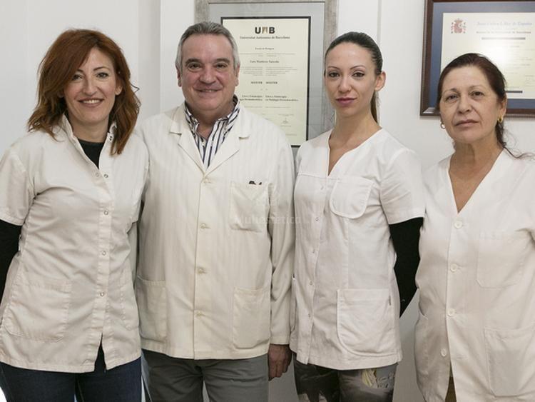Equipo de la clínica Dermaláser Centre Mèdic