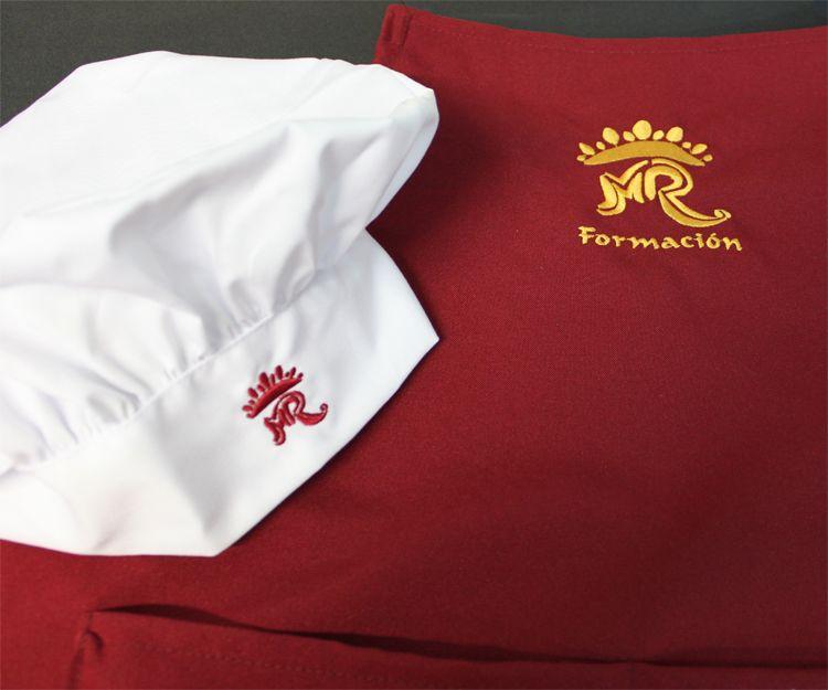 Bordados para ropa de chef
