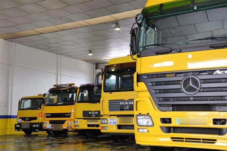Flota de vehículos de nuestra empresa