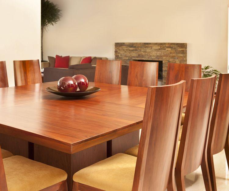 Diseño de muebles de comedor