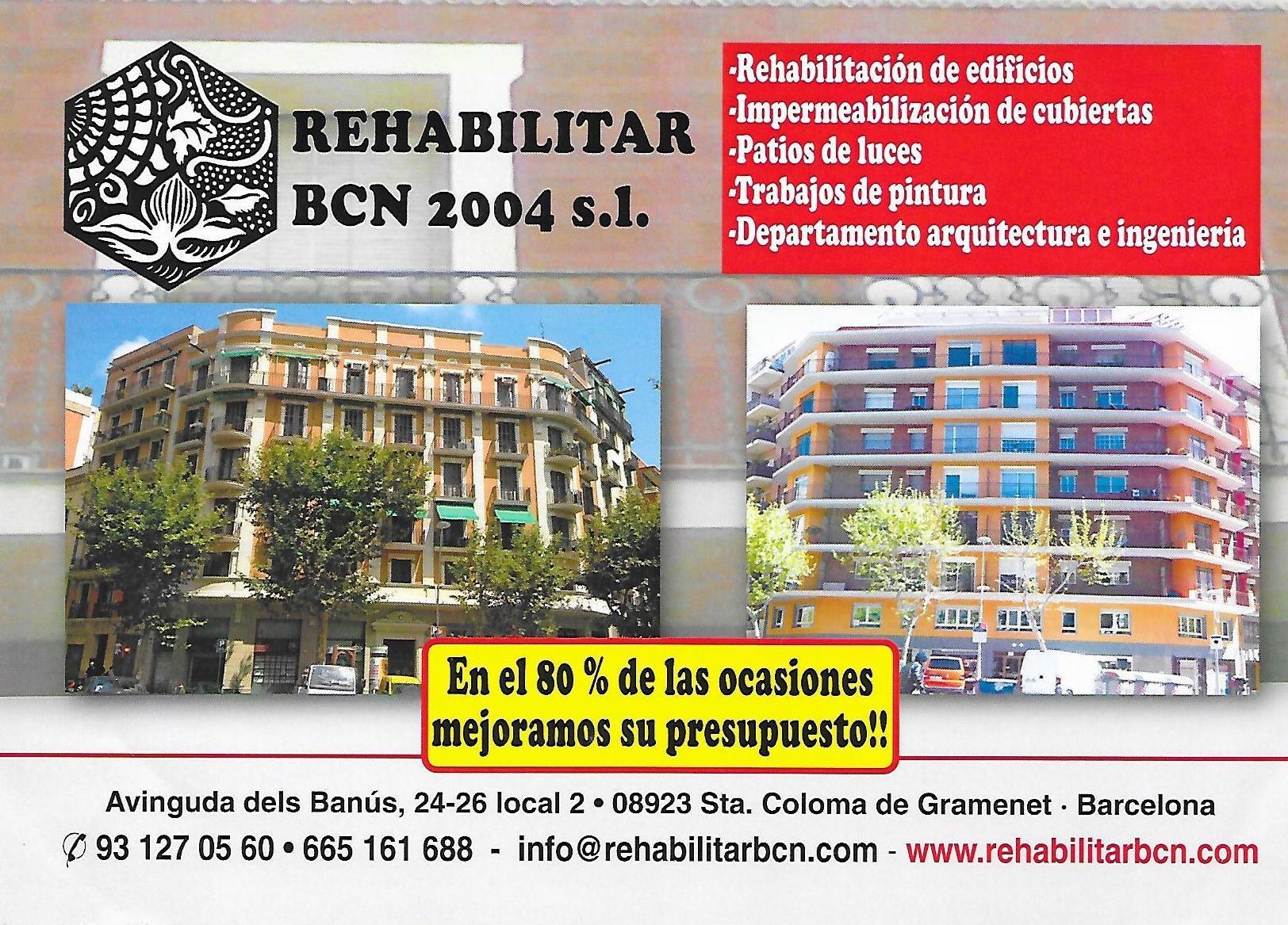 Foto 10 de Rehabilitación de edificios en Santa Coloma de Gramenet | Rehabilitar BCN