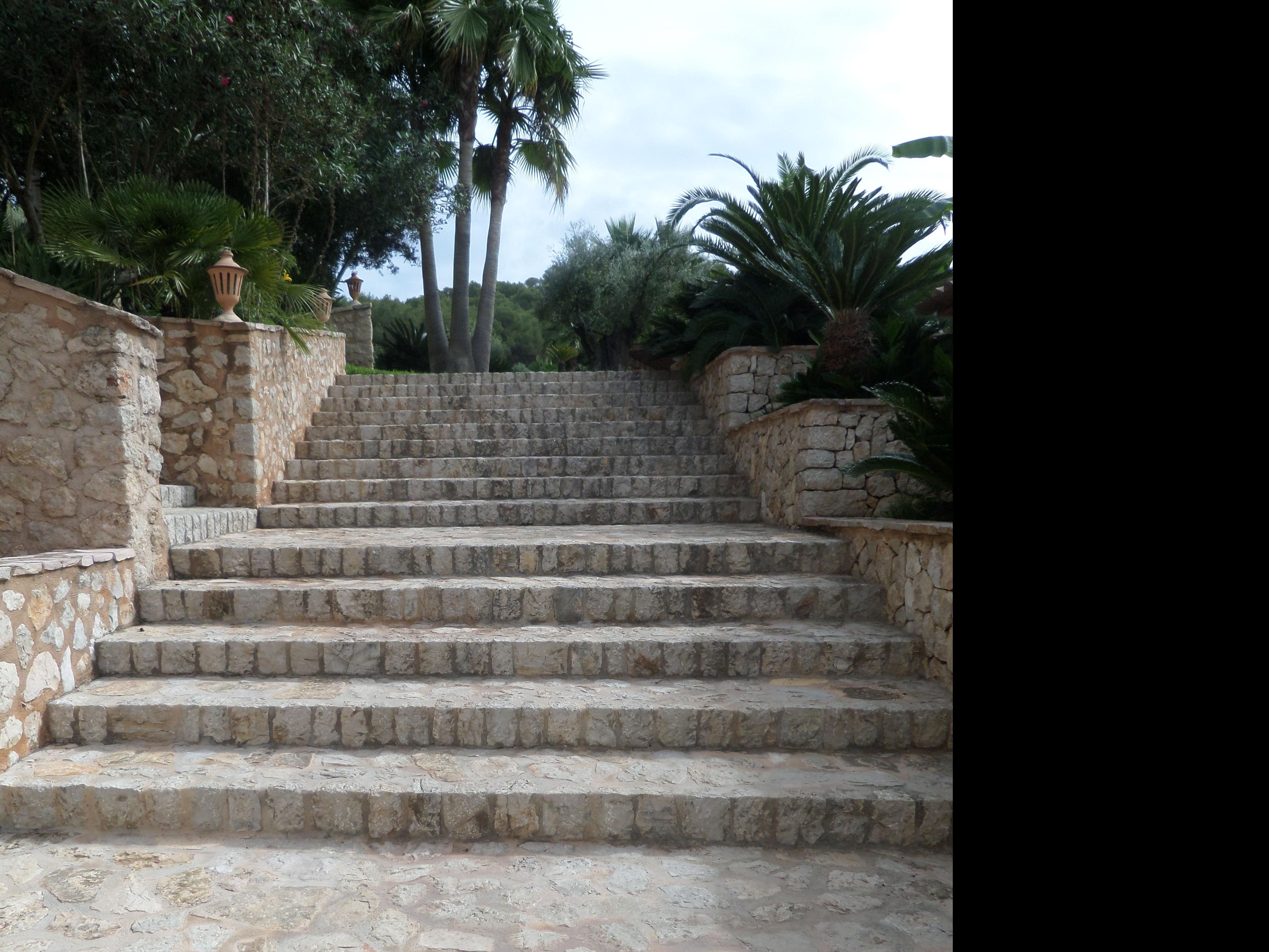 Escalera de Piedra natural