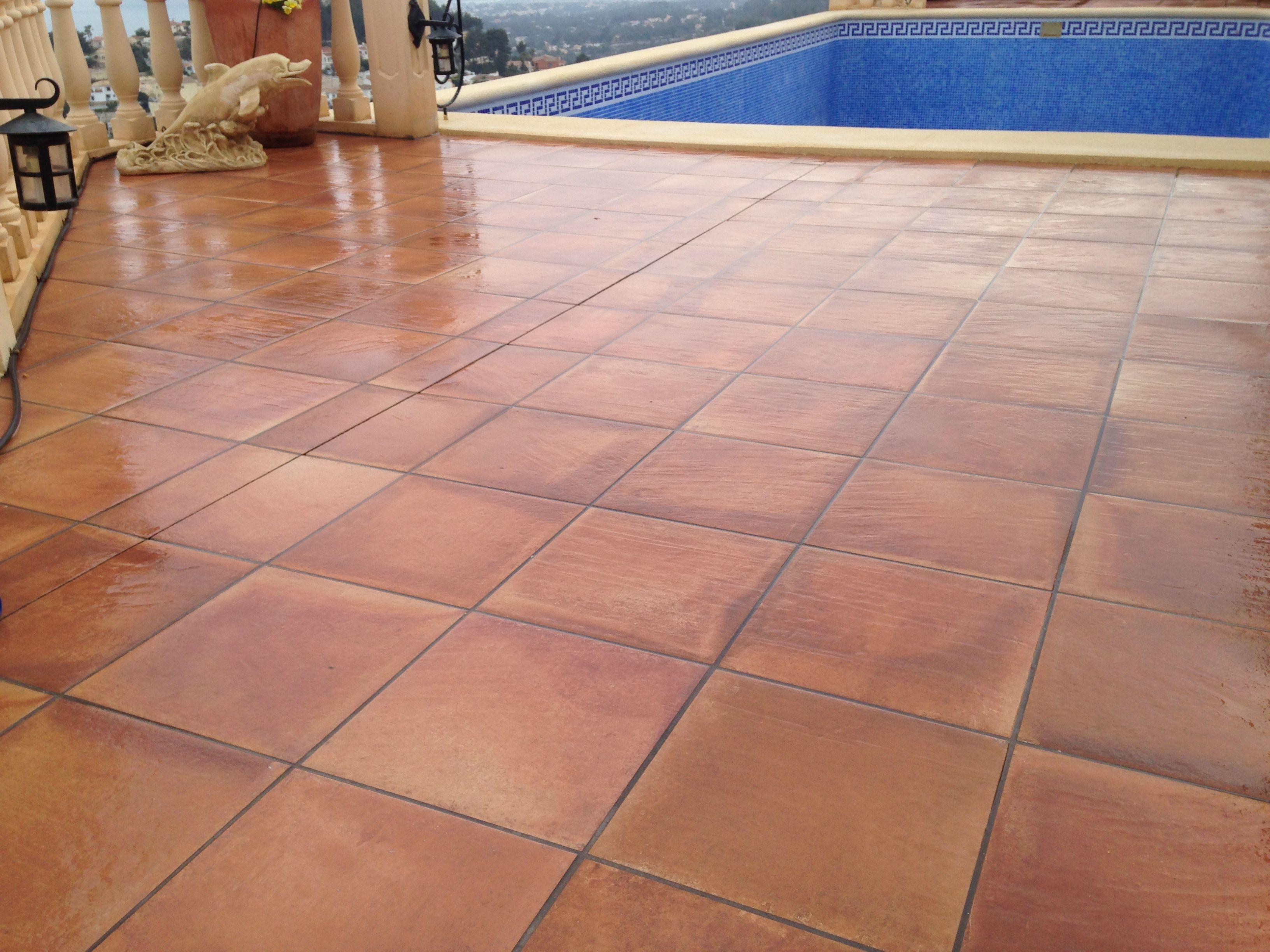 Suelos piscinas trendy suelos piscinas hormigon impreso - Hormigon decorativo para suelos ...