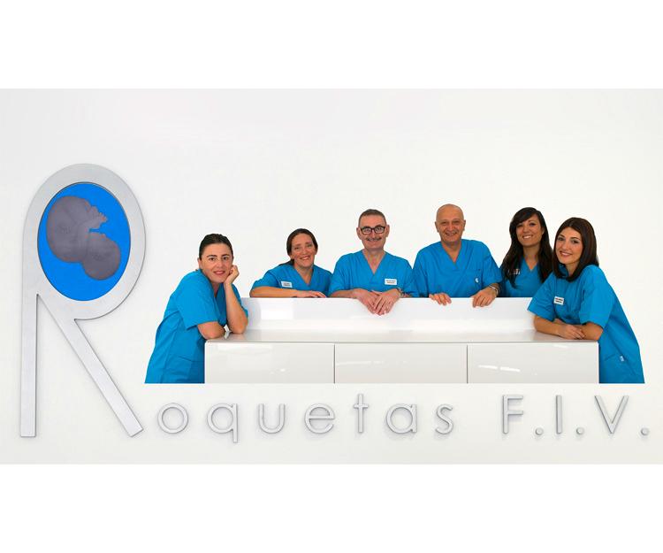Equipo de nuestra clínica de reproducción asistida en Roquetas de Mar