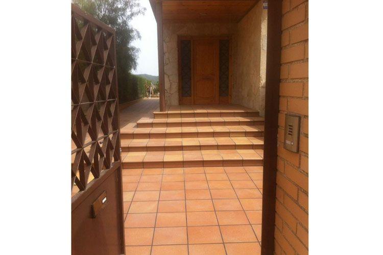 Obras para colocación de suelos de exterior