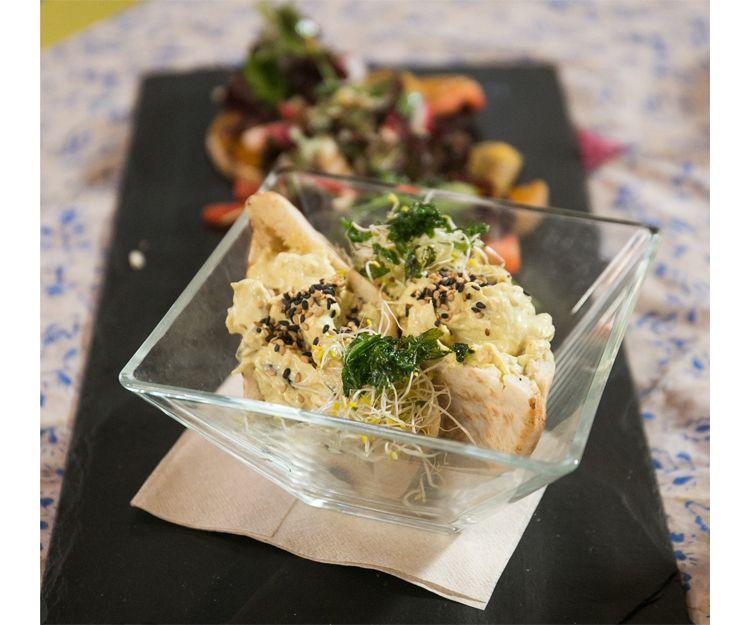 Restaurante vegetariano de comida orgánica en Vic