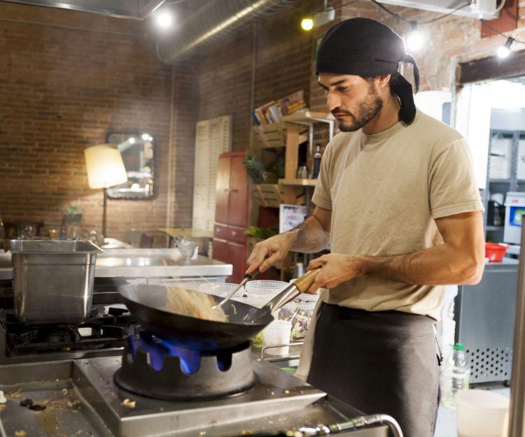 Restaurante de comida vegetariana en Vic