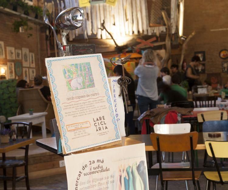 Cuentacuentos en nuestro restaurante en Vic