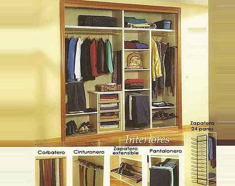 interiores de armarios y vestidores en Sanlucar de Barrameda