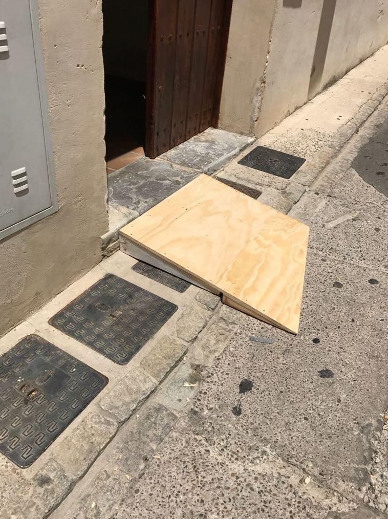 Rampas para paso - san Lucar de Barrameda