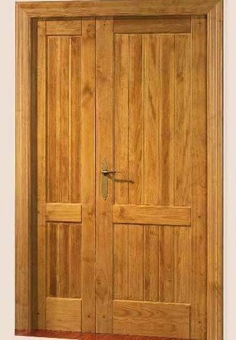 Puerta Interior 2 Hojas Duelas 610 Nogal Claro