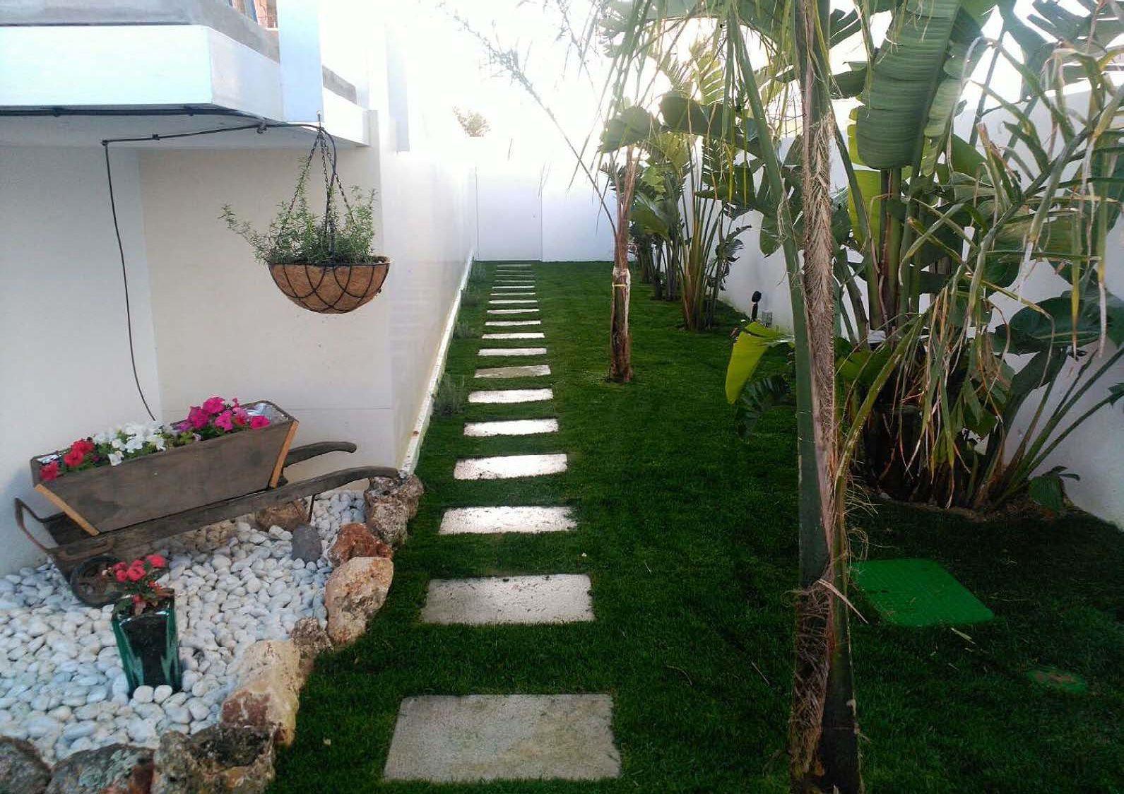 Jardines en Chiclana de la Frontera, Cádiz