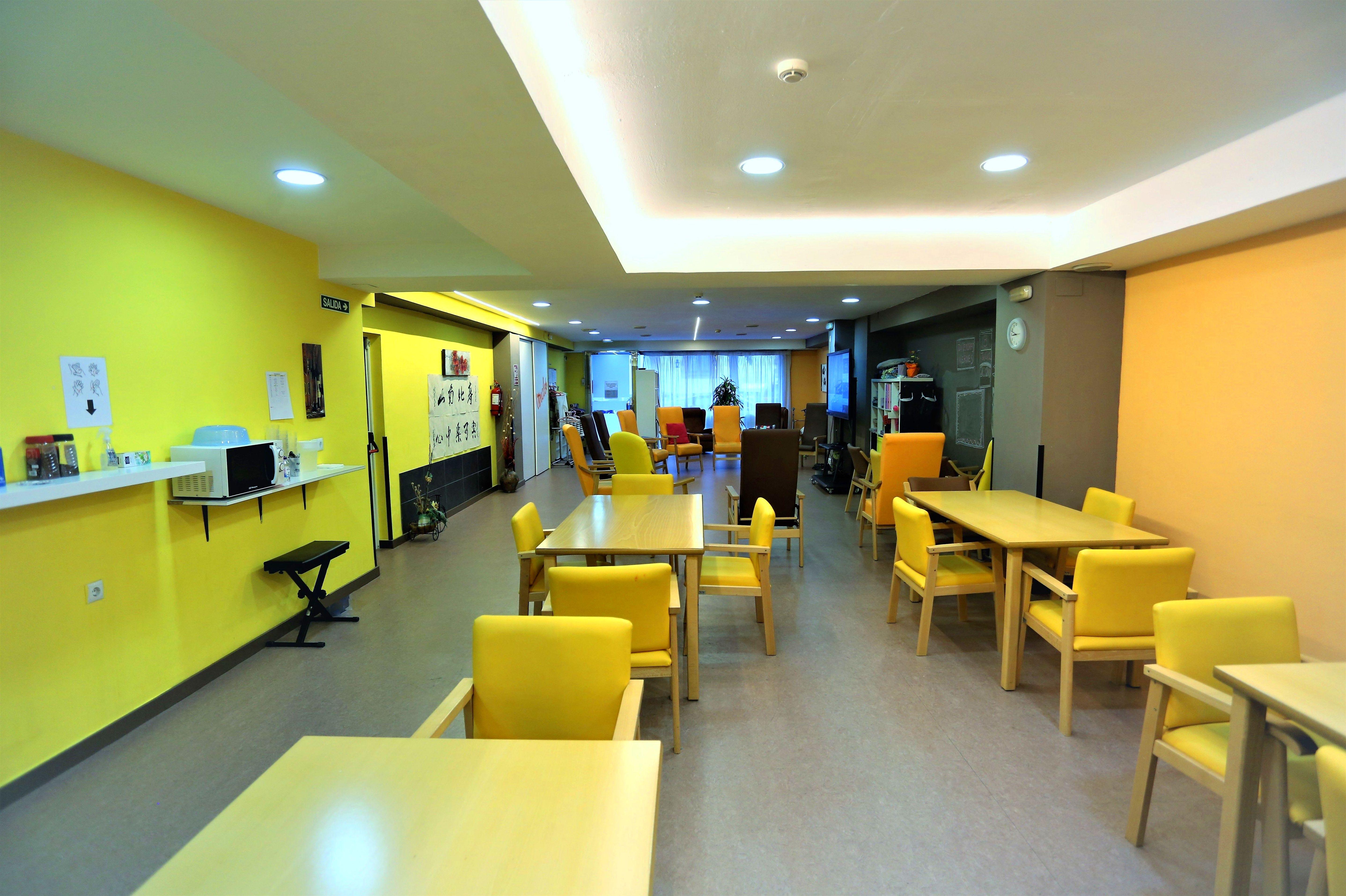 Centro de día adaptado para personas con dependencia