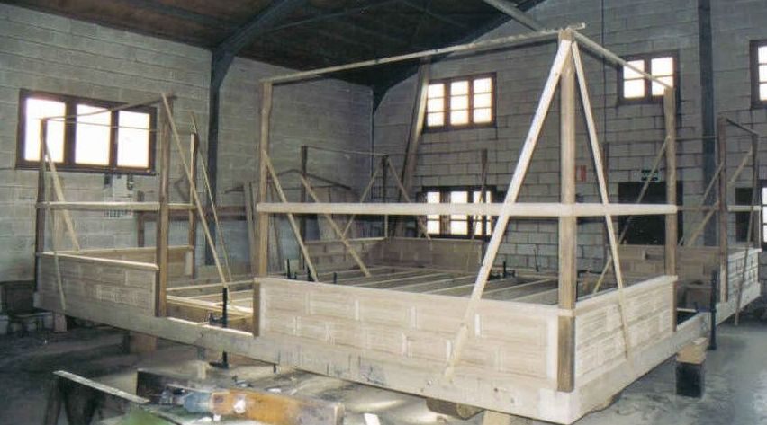 Construcciones de madera en Asturias