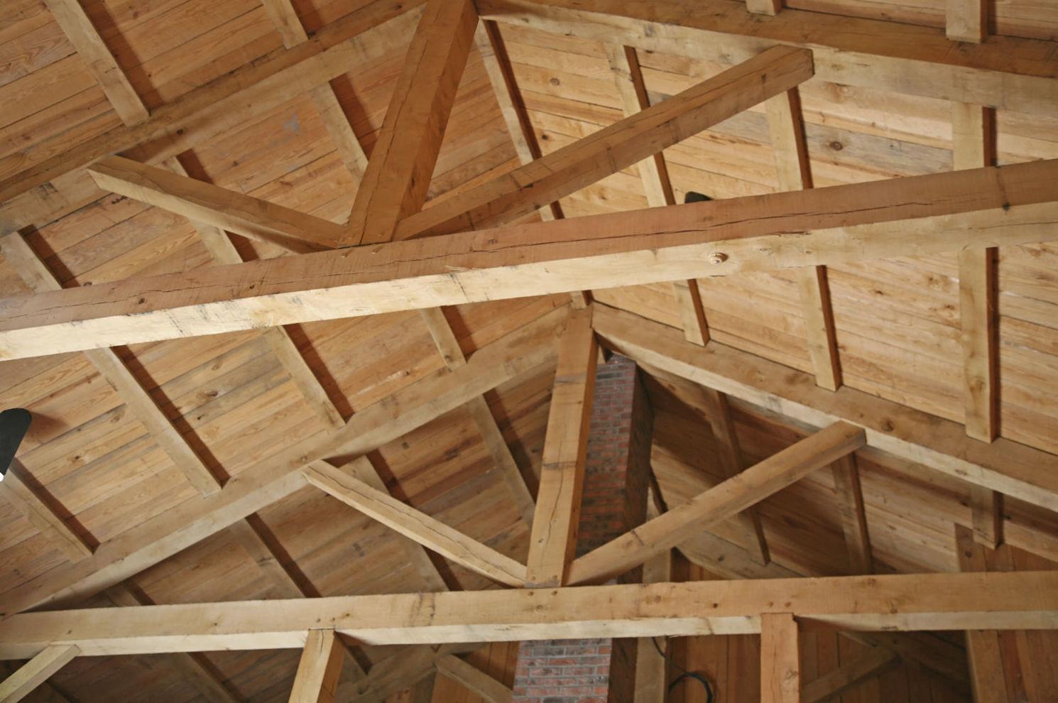 Techos de madera en Asturias