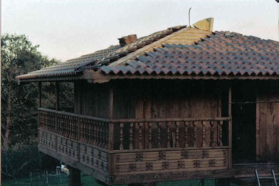 Construcción y reparación de hórreos Asturias