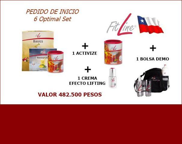 Kit arranque Fitline Chile