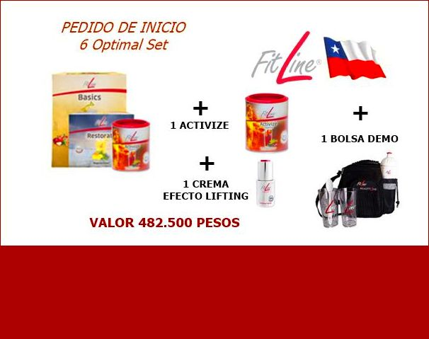 Productos Fitline En Chile