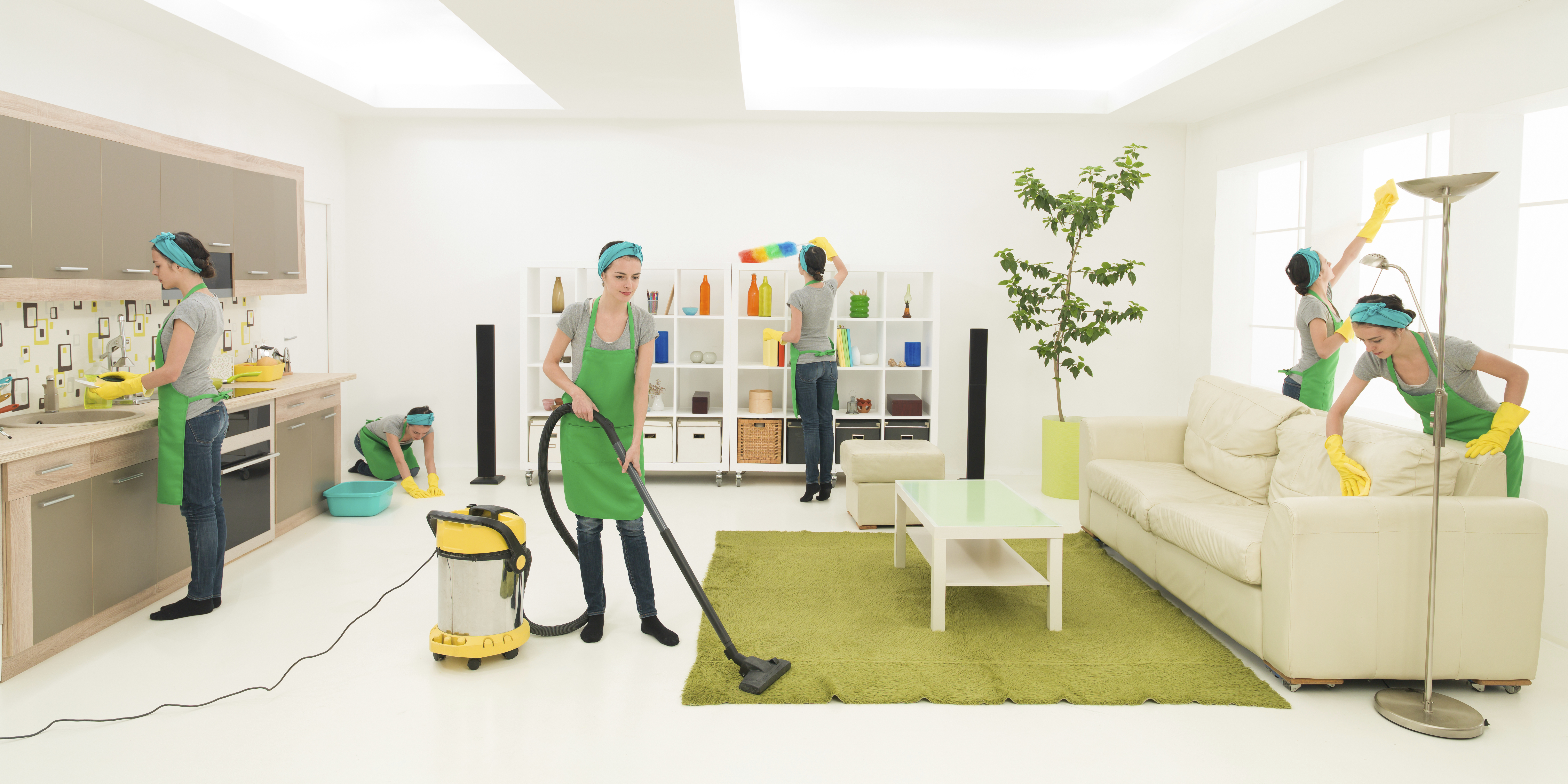 Limpieza de domicilios: Servicios de Limpiezas Agua Azul