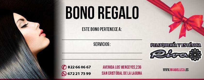 Bono regalo promoción