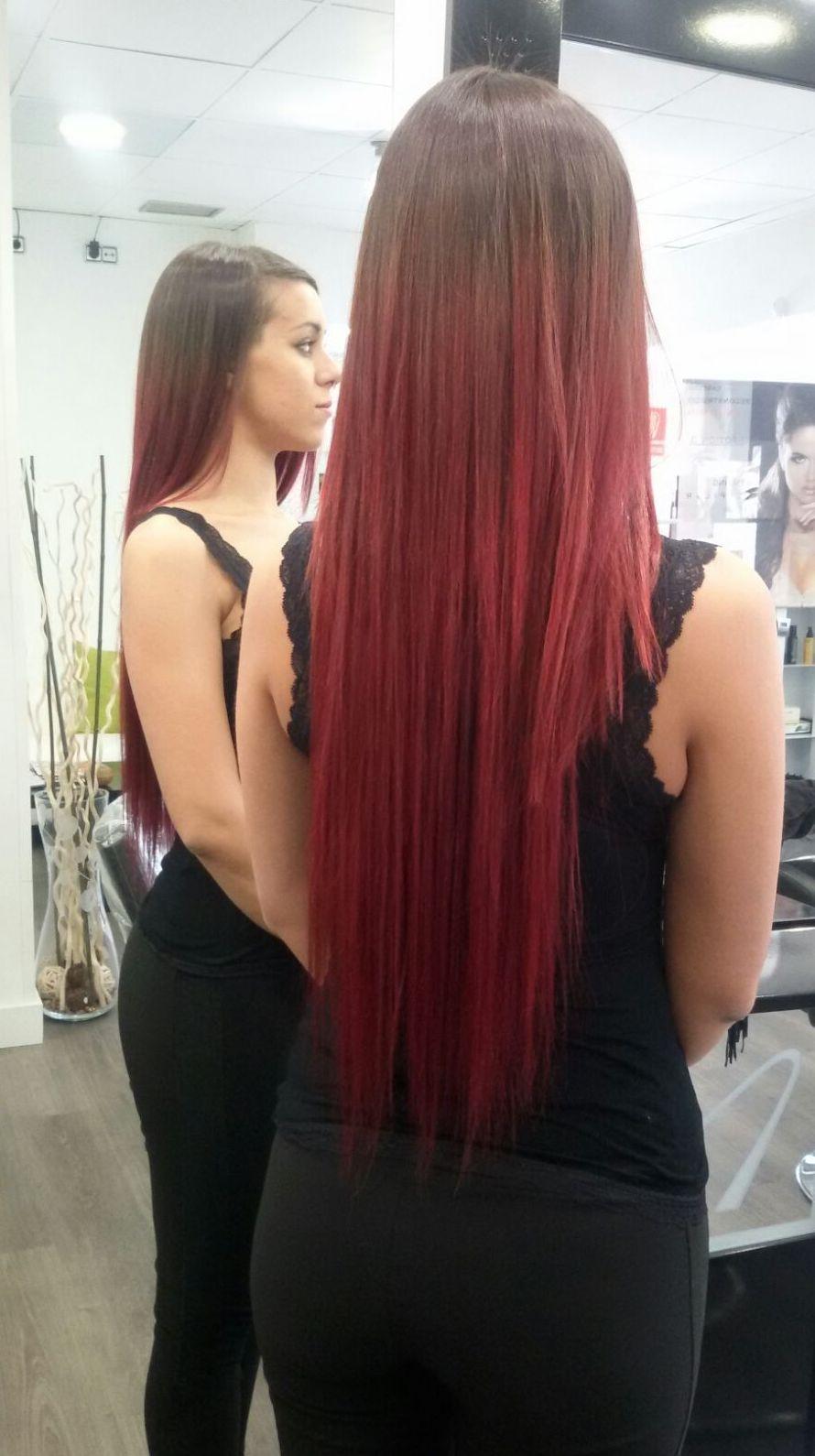 Tratamiento de color para el pelo