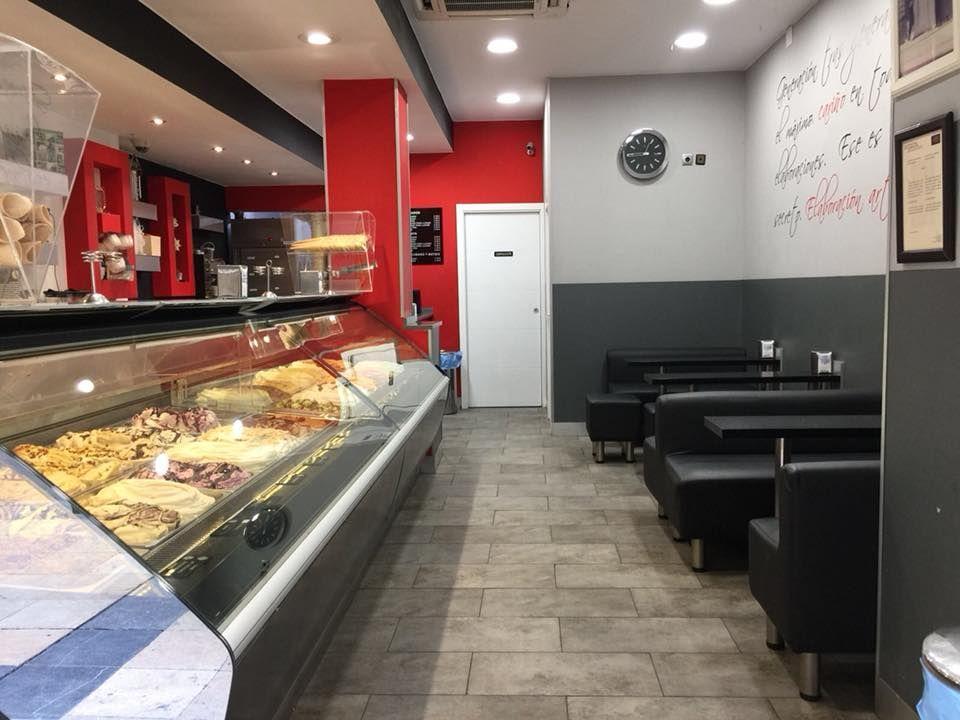 Gran variedad de helados en Zaragoza