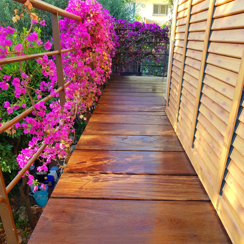 Pintors Martínez # tratamiento de madera.