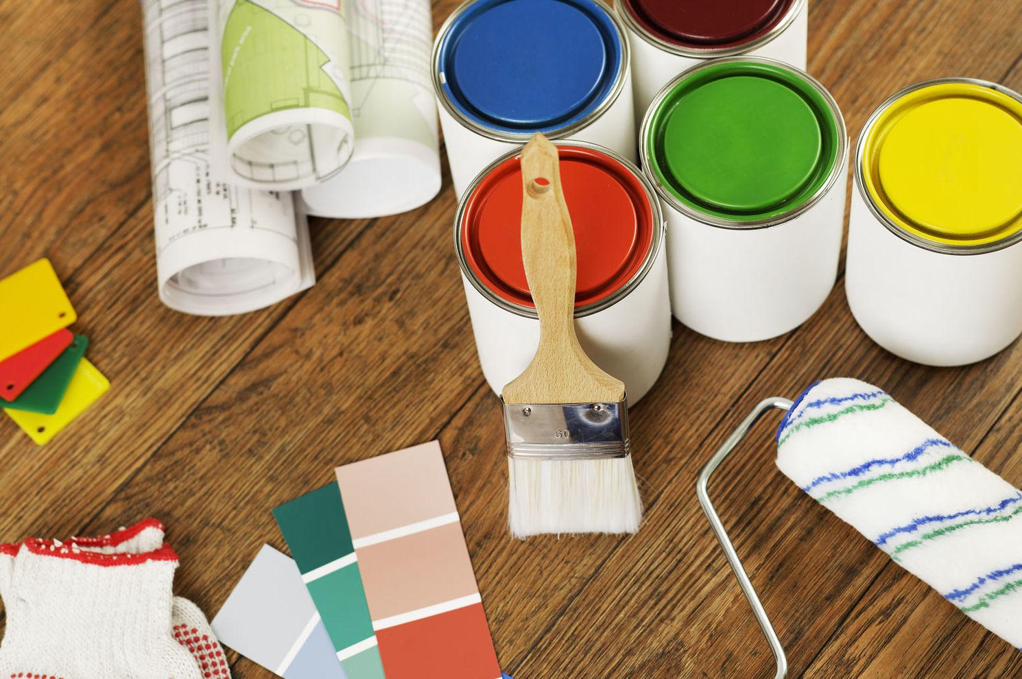 Pintura industrial y decorativa