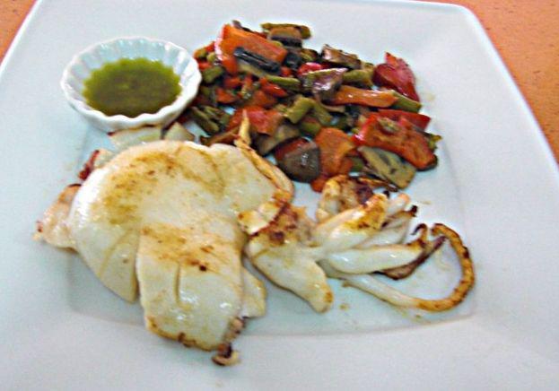 Pescados y mariscos : tapas mediterraneas de Restaurante Llevant