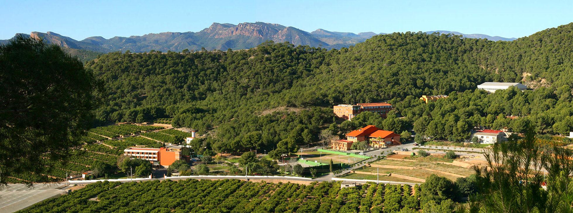 Vista panoramica del campus