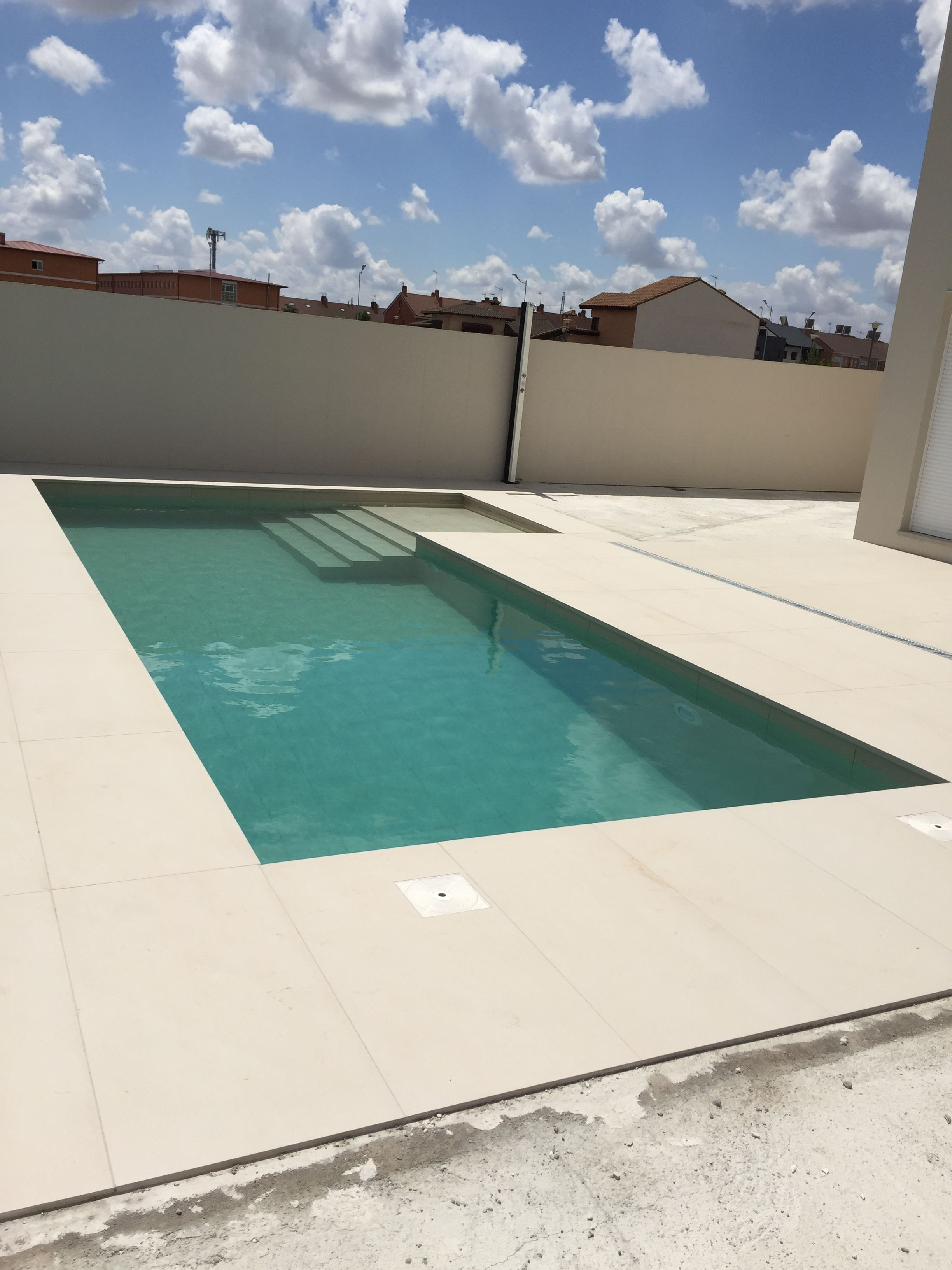 Construcción de piscinas en Madrid