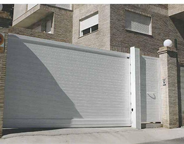 Puertas automáticas cochera y entrada a parcelas Asturias