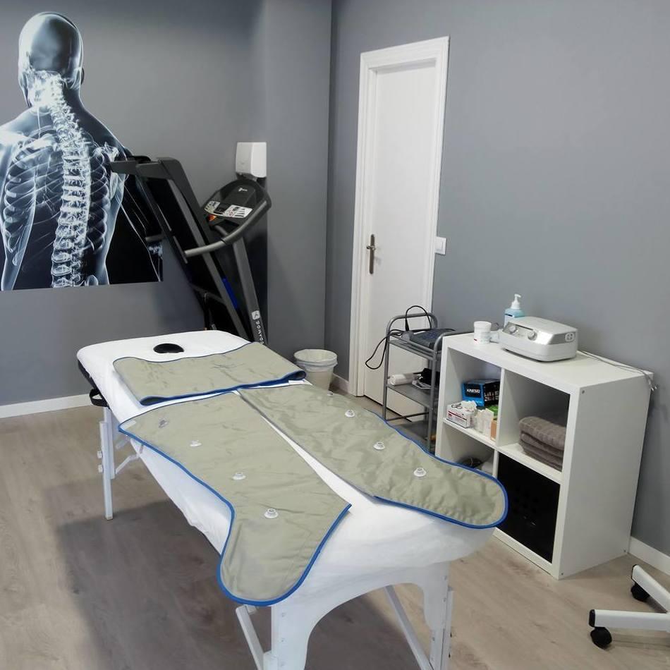Presoterapia: Servicios  de Fisio+